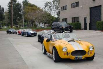 Cobra owners get together for a club event