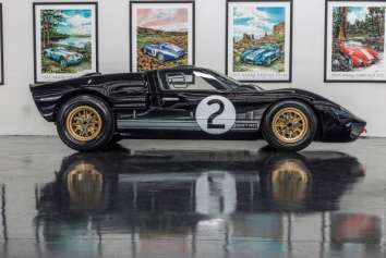 ICONIC FORD GT40 RACERS THAT WON LE MANS ARE REBORN