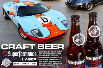 Superformance has partnered up with Absolution Brewing Company
