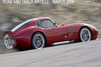 Superformance Coupe Road and Track
