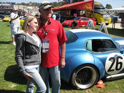 Superformance at Monterey Historic Vintage Racing Event - August 2009