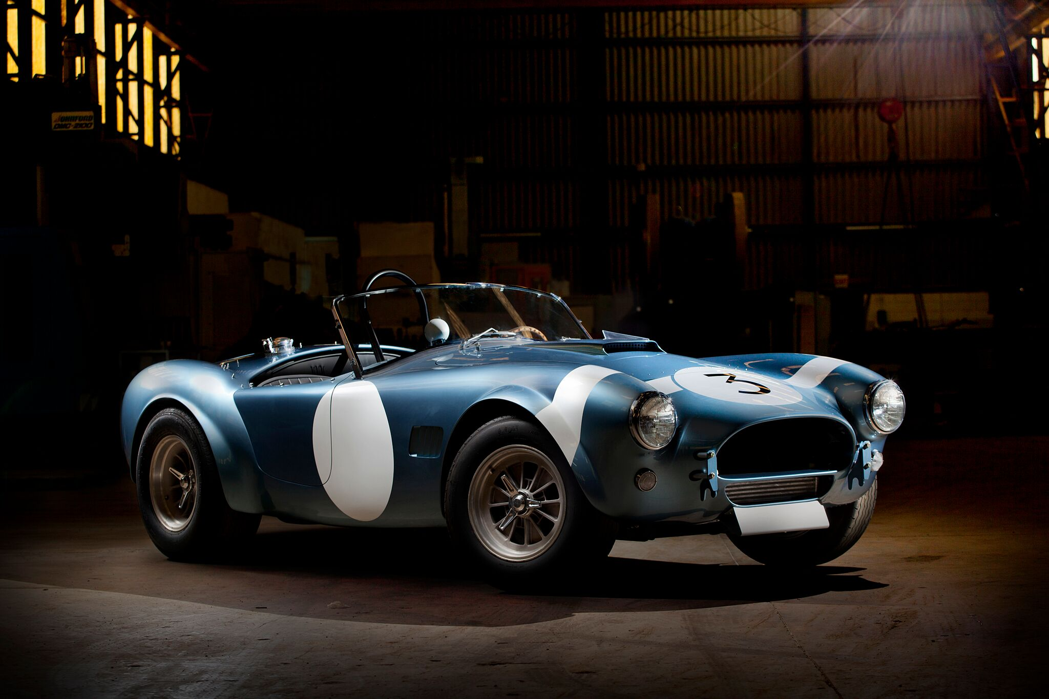Bob Bondurant Edition Shelby Cobra FIA Roadster & Daytona Coupe
