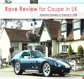 Rave Review for Coupe in UK