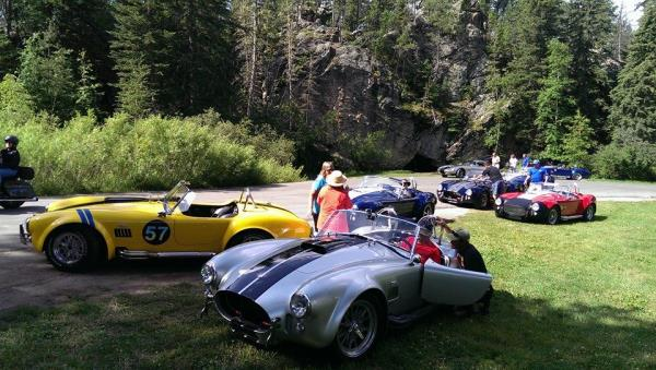 Superformance Owners tour Door County and Washington Island WI