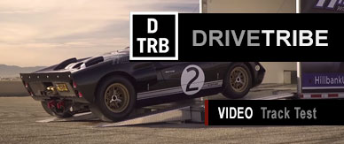 GT40 Driven on the track by DriveTribe