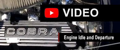 Cobra 289 Slab Side Engine Sound