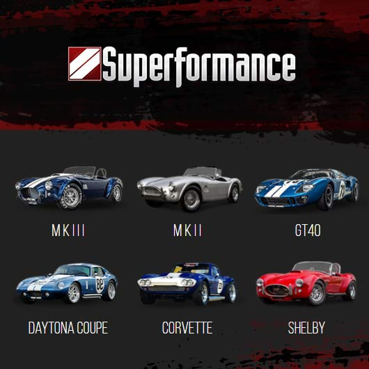 Superformance - Luxury Racing Replicas